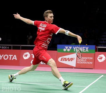 Arms wide 1b - What are the Badminton Playing (Technical) Basics : Part 3 of 4