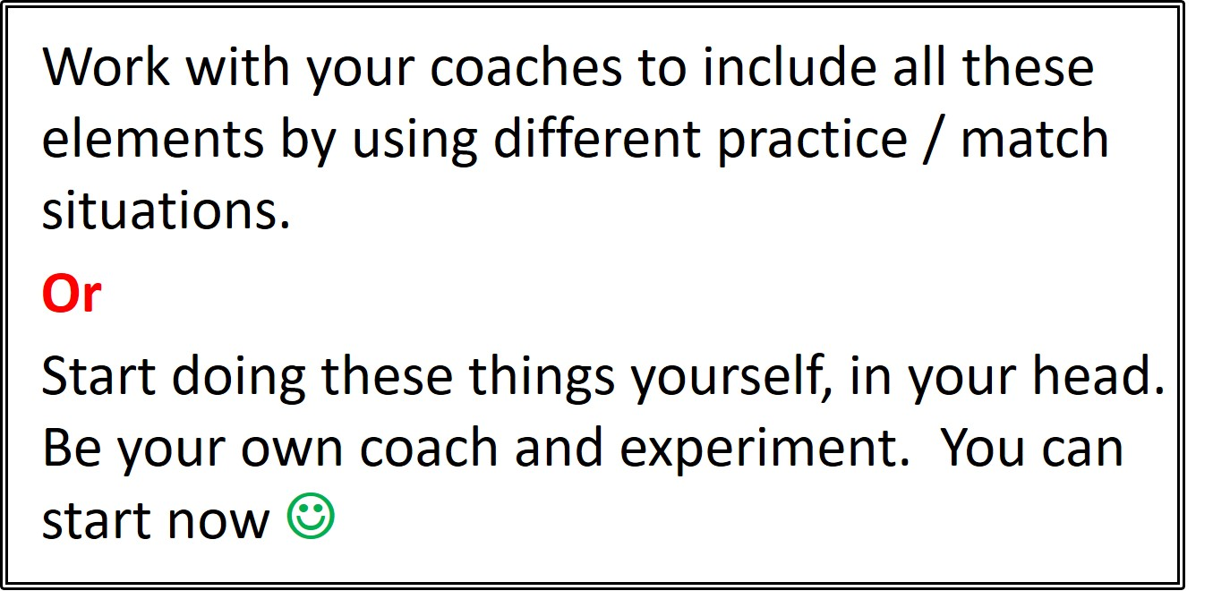 Your own badminton coach - 6 Ways to Prepare & Practice for the Big points