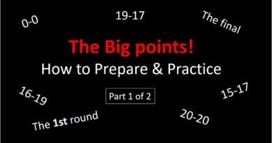 How to play the big points