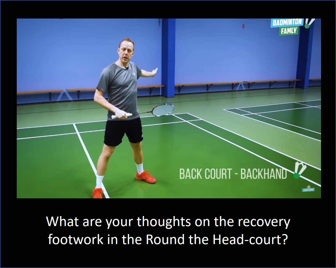 The Badminton Family recovery from RTH