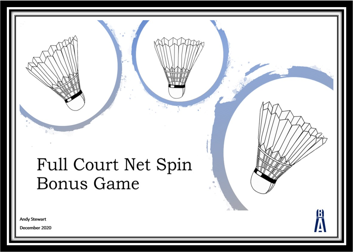 Badminton Net Spin Conditioned Game