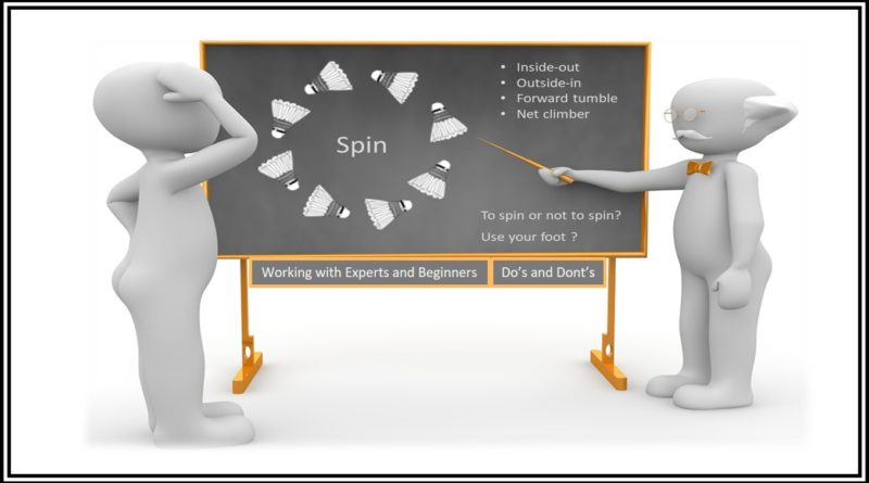How to coach spin nets