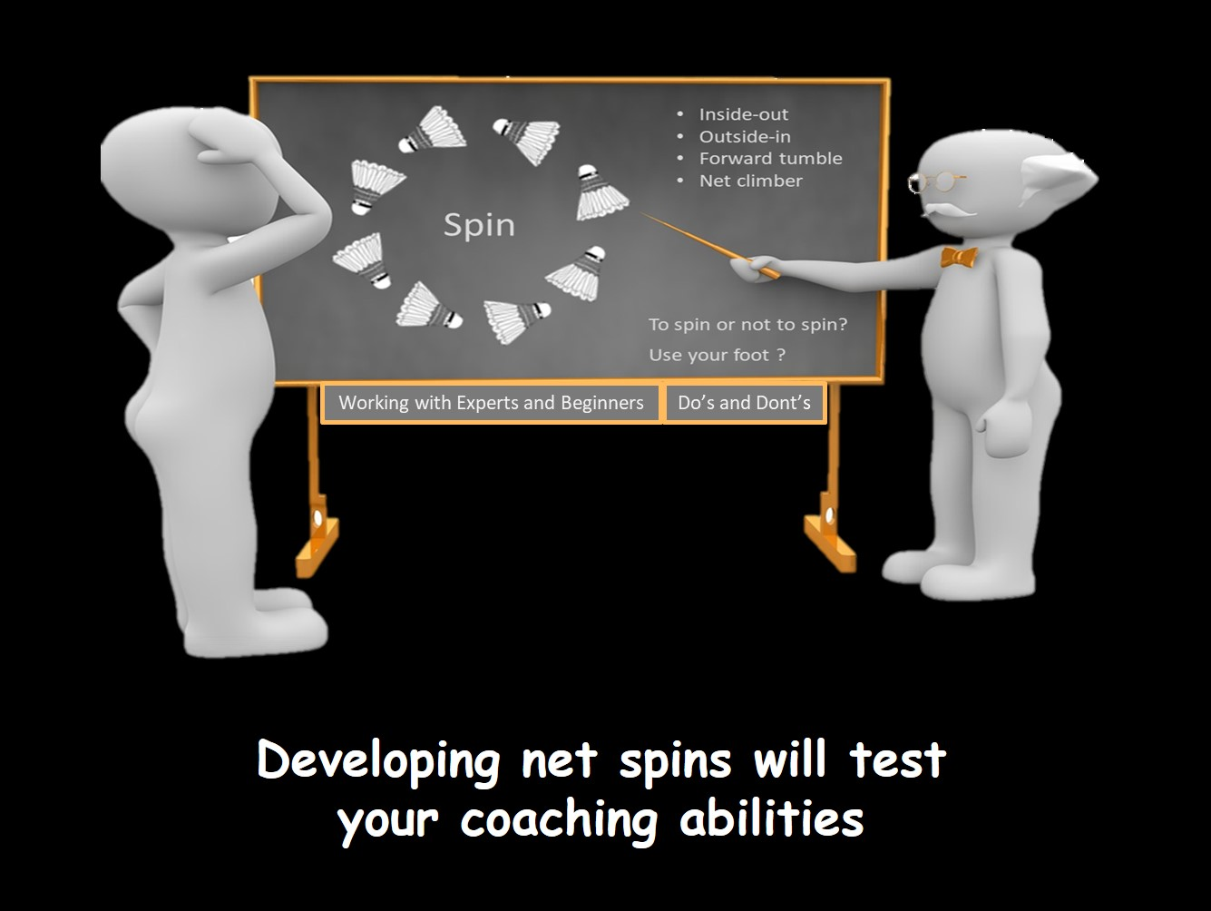 Coaches guide to net spins